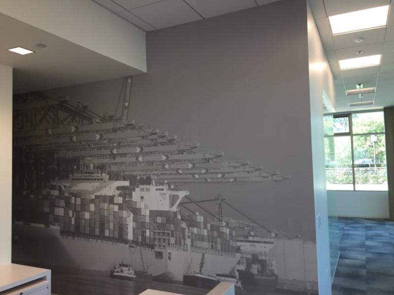 Wall Murals for Real Estate Companies Newport Beach CA