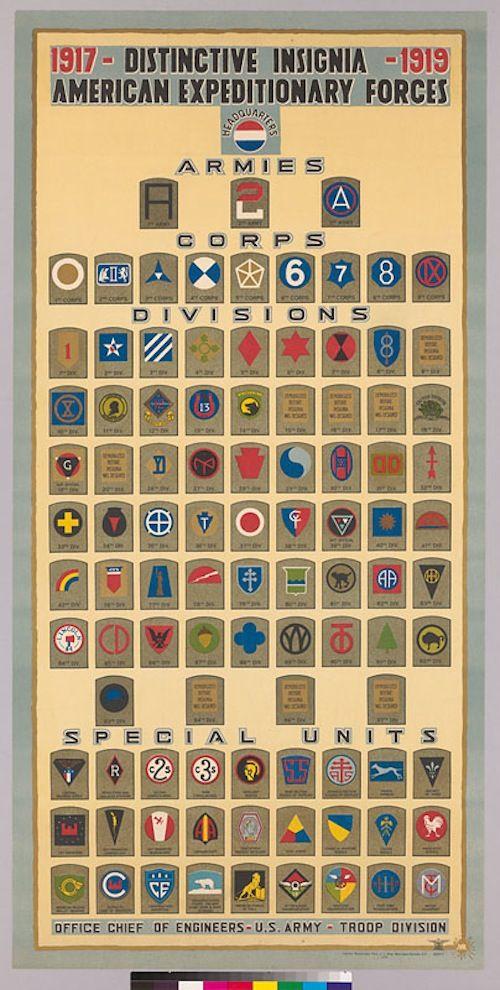 1917: General Order, No. 8 - established HQ, AEF in France