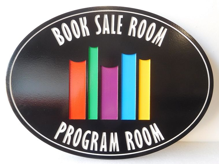 SA28347 - Engraved  Sign  for a Book Sale Room