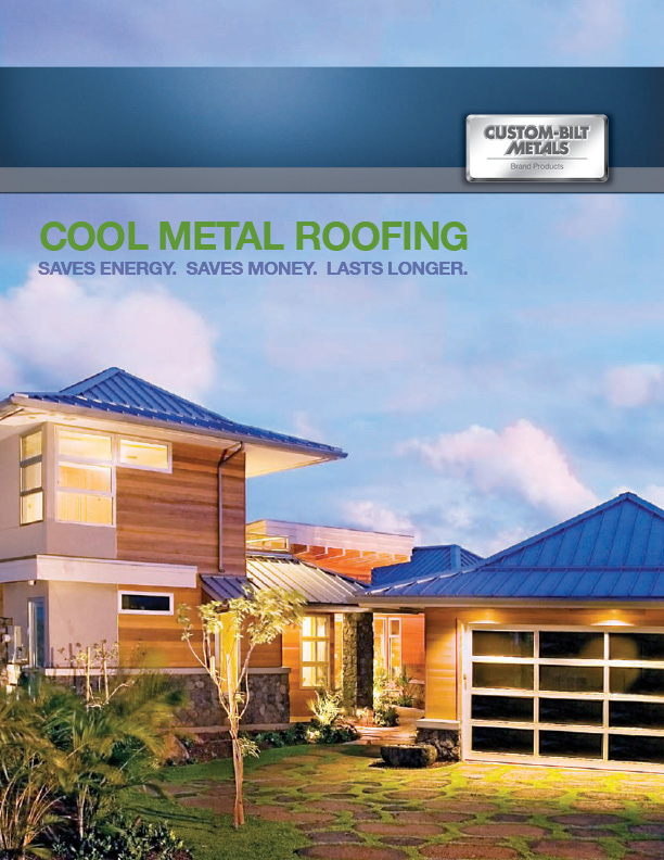 Brochures: Cool Metal Roofing