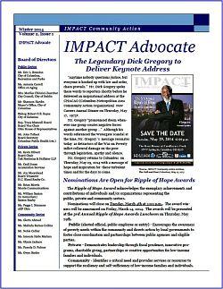 IMPACT Advocate~Winter 2014