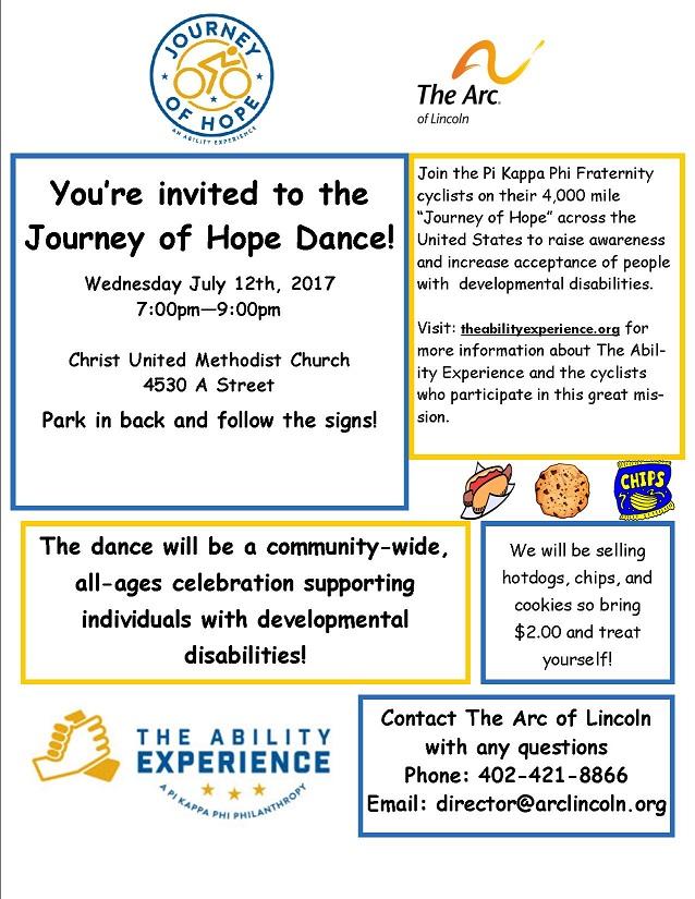 Journey of Hope Dance