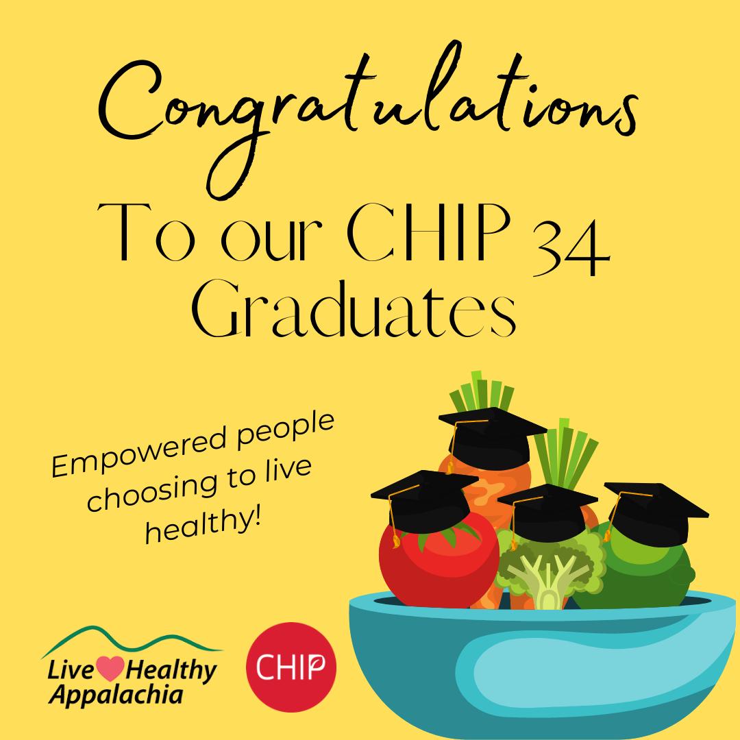 Congratulations to our CHIP 34 Graduates!
