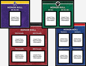Honor Roll Displays