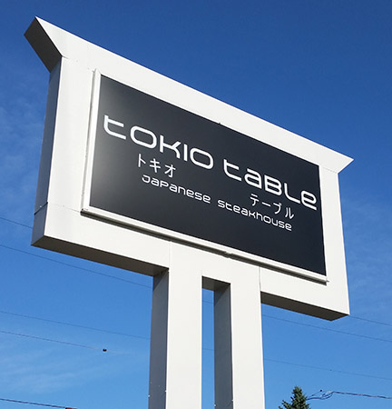 LEXAN LIGHT BOX SIGN