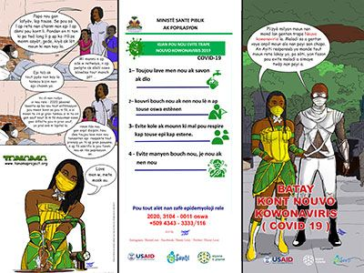 Distribute Battle Against Coronavirus Brochure