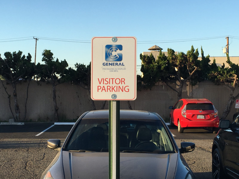 Parking Log Signs | Buena Park | Orange County CA