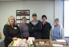 Food, Personal Needs Donated by Renosol Employees