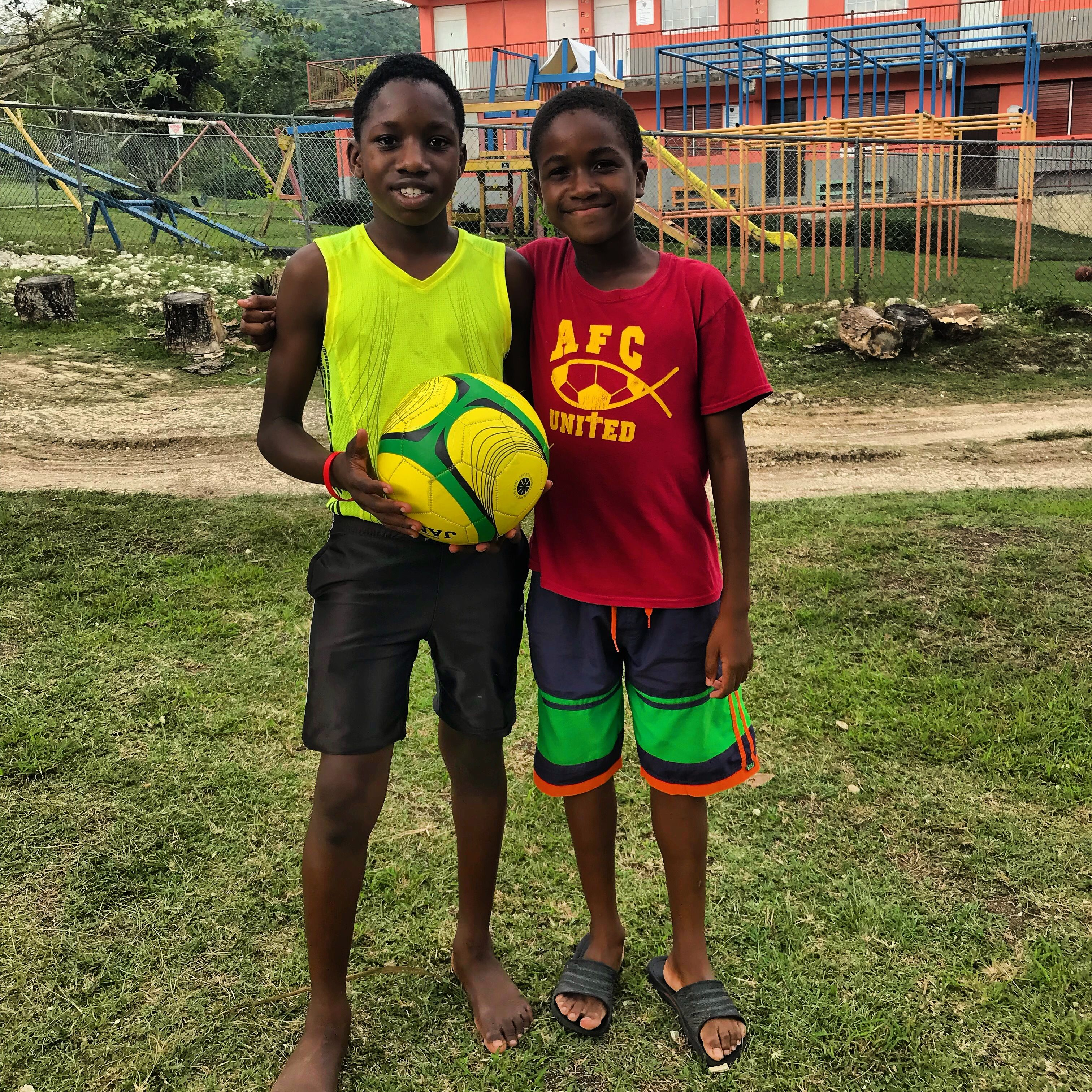 Beyond Borders, Songs for Sound serves the Jamaica Christian School for the Deaf