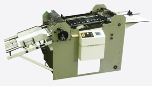 "Rosback 30"" x 30"" Perforator/Scorer with high-end Technifold scoring wheels."