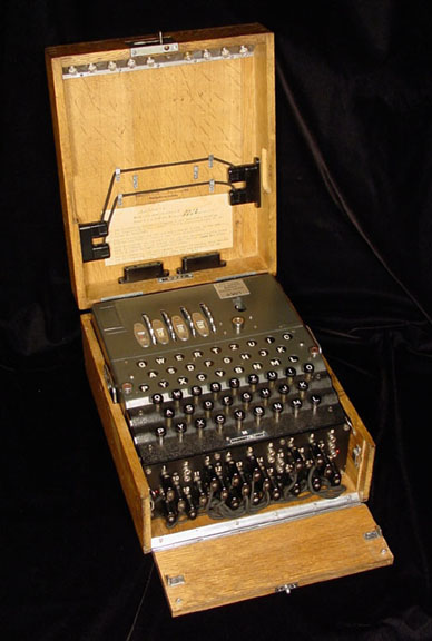 1942: German Navy introduced 4-rotor Enigma