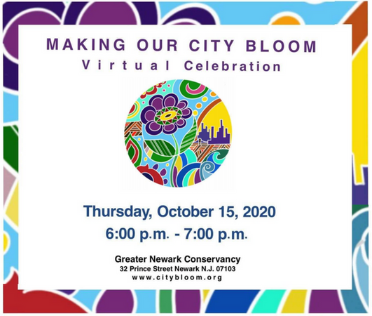 Making Our City Bloom Virtual Celebration