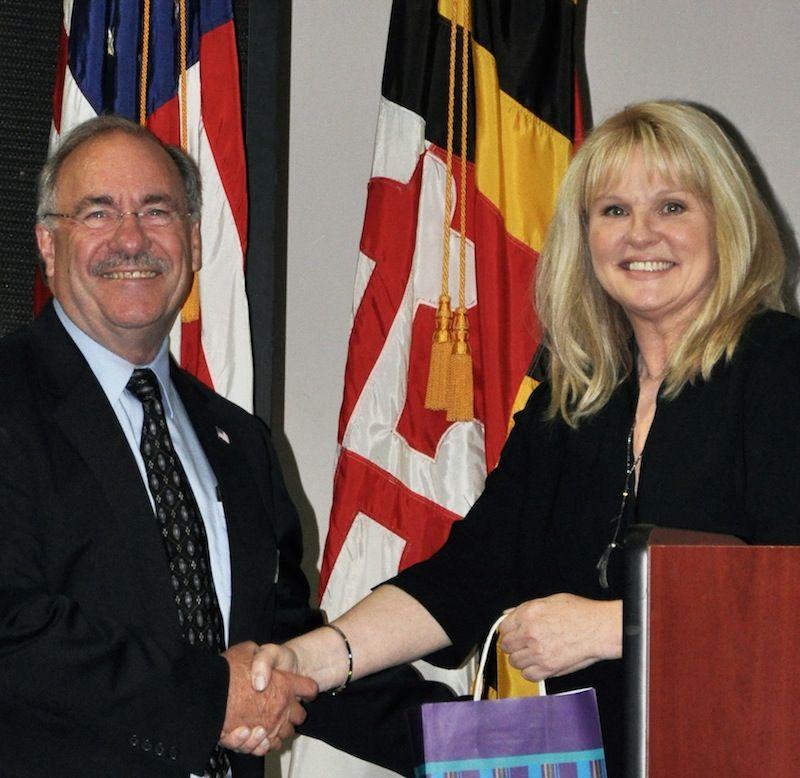 Dick Schaeffer with Dr. Mary Aiken