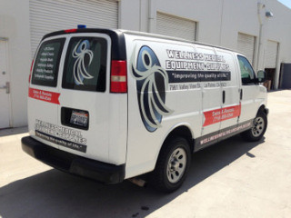 truck lettering and vehicle vinyl lettering