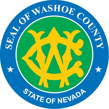 CP-1720 - Carved Plaque of the Seal of Washoe County,Nevada,  Artist Painted