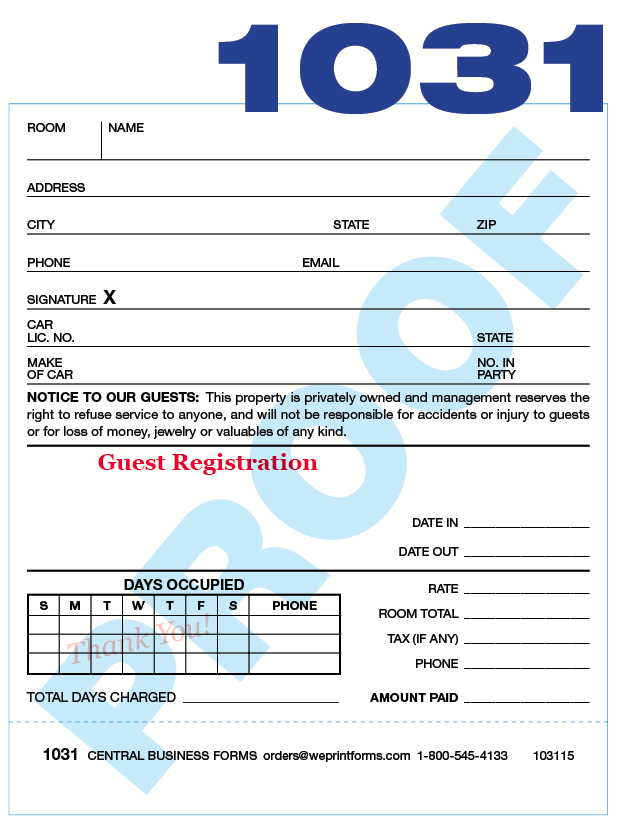 1031 Form