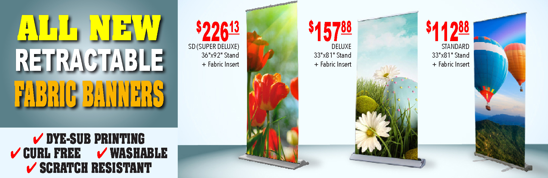 Retractable Banners - new site