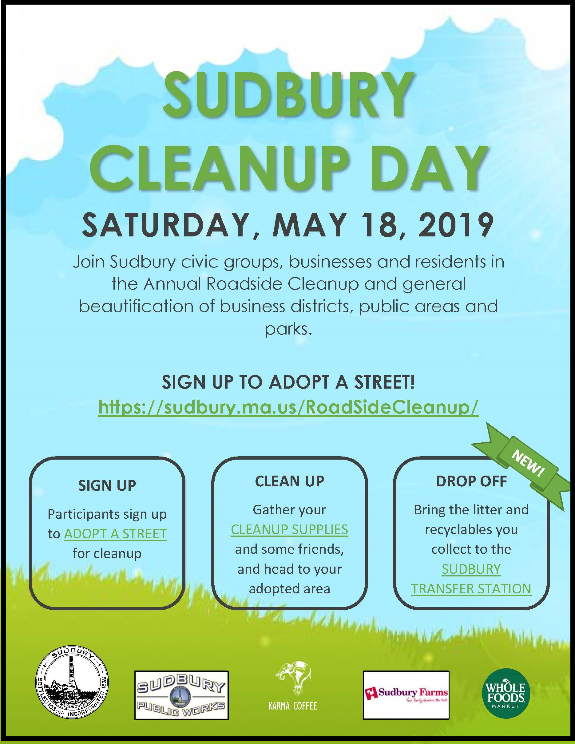 Sudbury Cleanup Day
