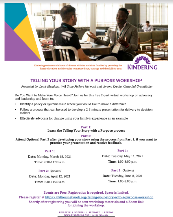 Workshop: Telling Your Story With A Purpose