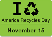 Gear Up Now for America Recycles Day on November 15