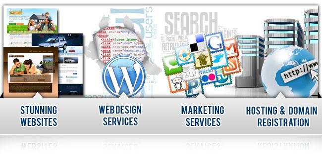 Stunning Websites, Web Design Services, Marketing Services, Hosting & Domain Registration