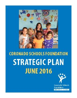View the 2016 Strategic Planning Document