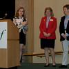 Julie Plata, OutputLinks, introduces the Women of Distinction
