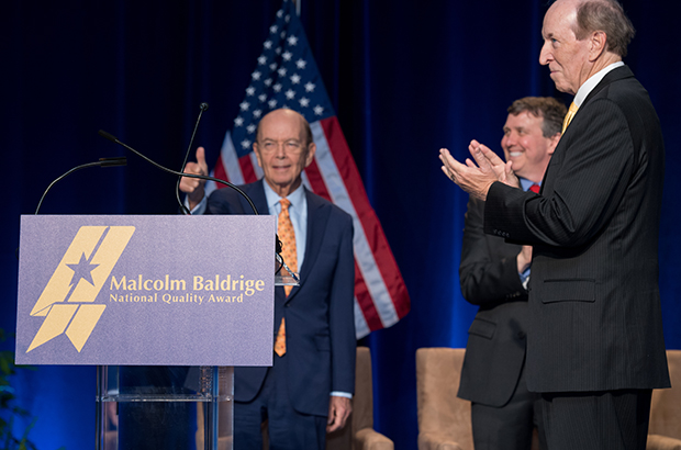 """The Malcolm Baldrige National Quality Award is the only award for excellence granted by the President of the United States, and it is only fitting that he do so because this public-private partnership generates $1 billion per year in economic impact."""