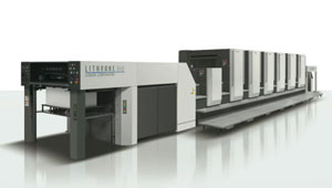 6 Color Komori G40 with UV and Aqueous Coater
