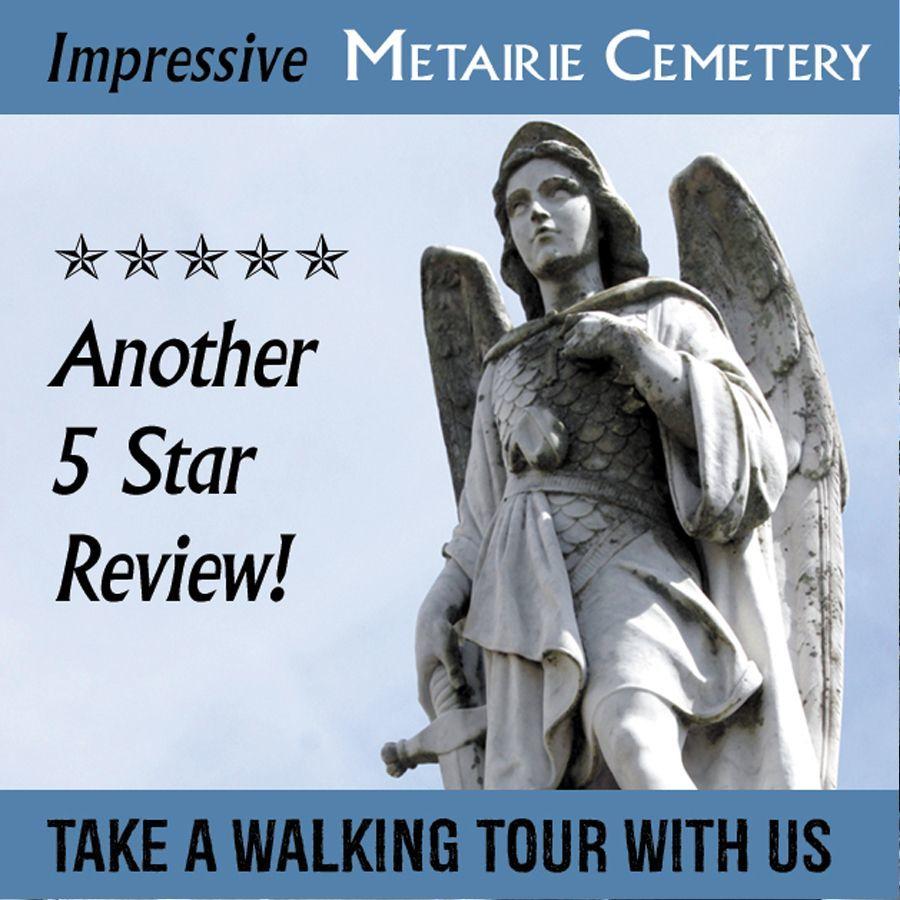 Beautiful Lake Lawn Metairie Cemetery