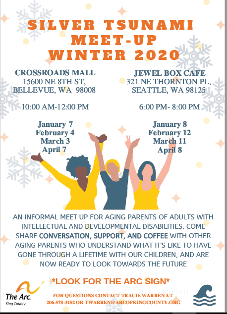 Cancelled: Silver Tsunami Meetup 2020 Winter (NorthGate) - For Aging Parents