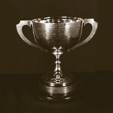 May 1991: Travis Trophy Presentation
