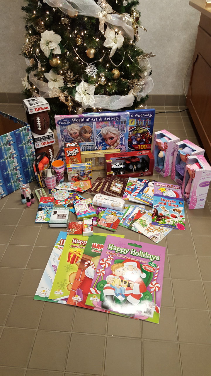 December - Toys for the Salvation Army
