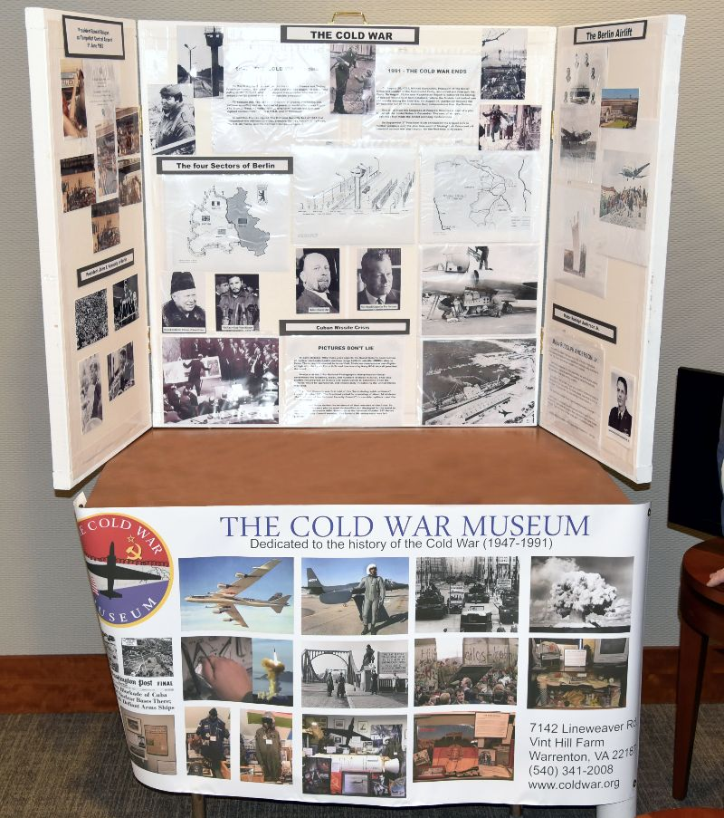 Cold War Museum Display - 2019 NCMF Spring Program