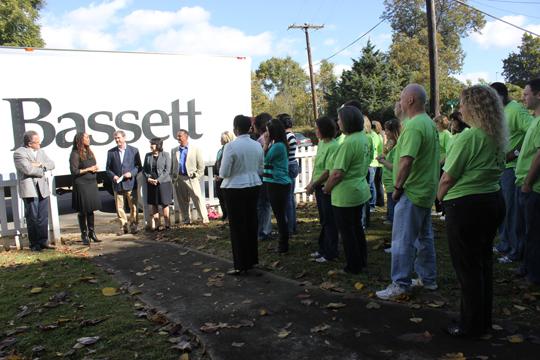 Bassett Furniture donates $10,000 in furniture to Pathways