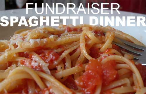 Spaghetti Feed Fundraiser! Monday Sept. 25th