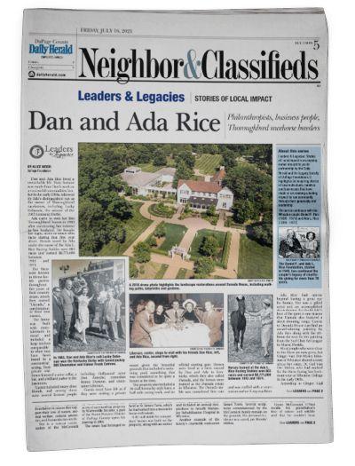 Dan & Ada Rice
