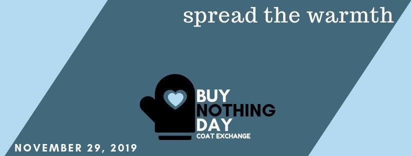 The Audubon Society of Rhode Island Eagle Eye Advocacy Update - Buy Nothing Day Coat Exchange Donation