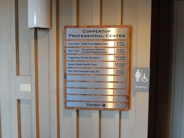 Building Directory Signs | Bend Oregon | Central Oregon