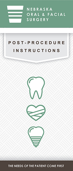 Recovery Instructions for Wisdom Teeth Removal and Dental Implant Surgery