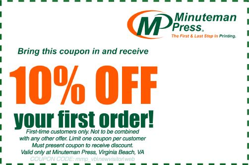 10% OFF your FIRST order. Call for Details.