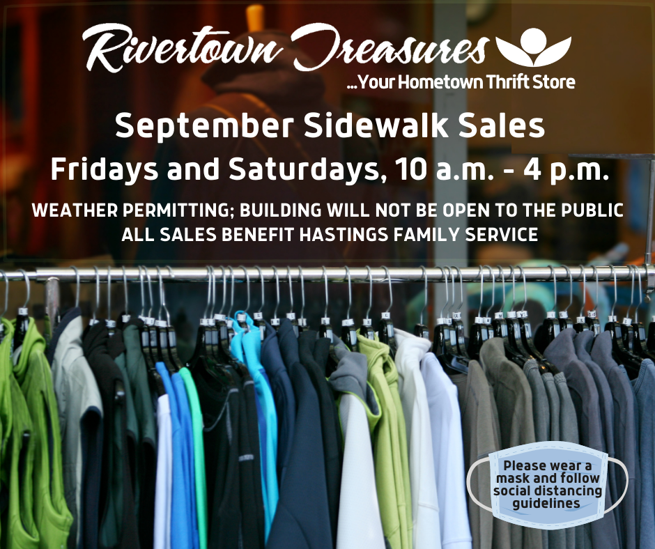 Rivertown Treasures September Sidewalk Sales