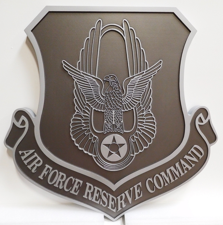 CD9180 - Plaque of Shield Crest for Air Force Reserve Command