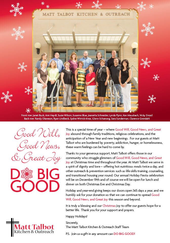 A Christmas message from the MTKO Staff Team...