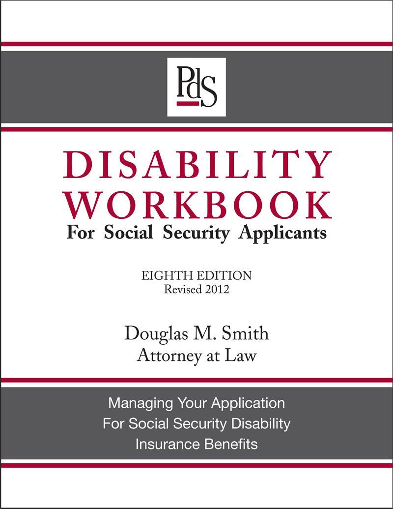 Disability Workbook, 8th Edition