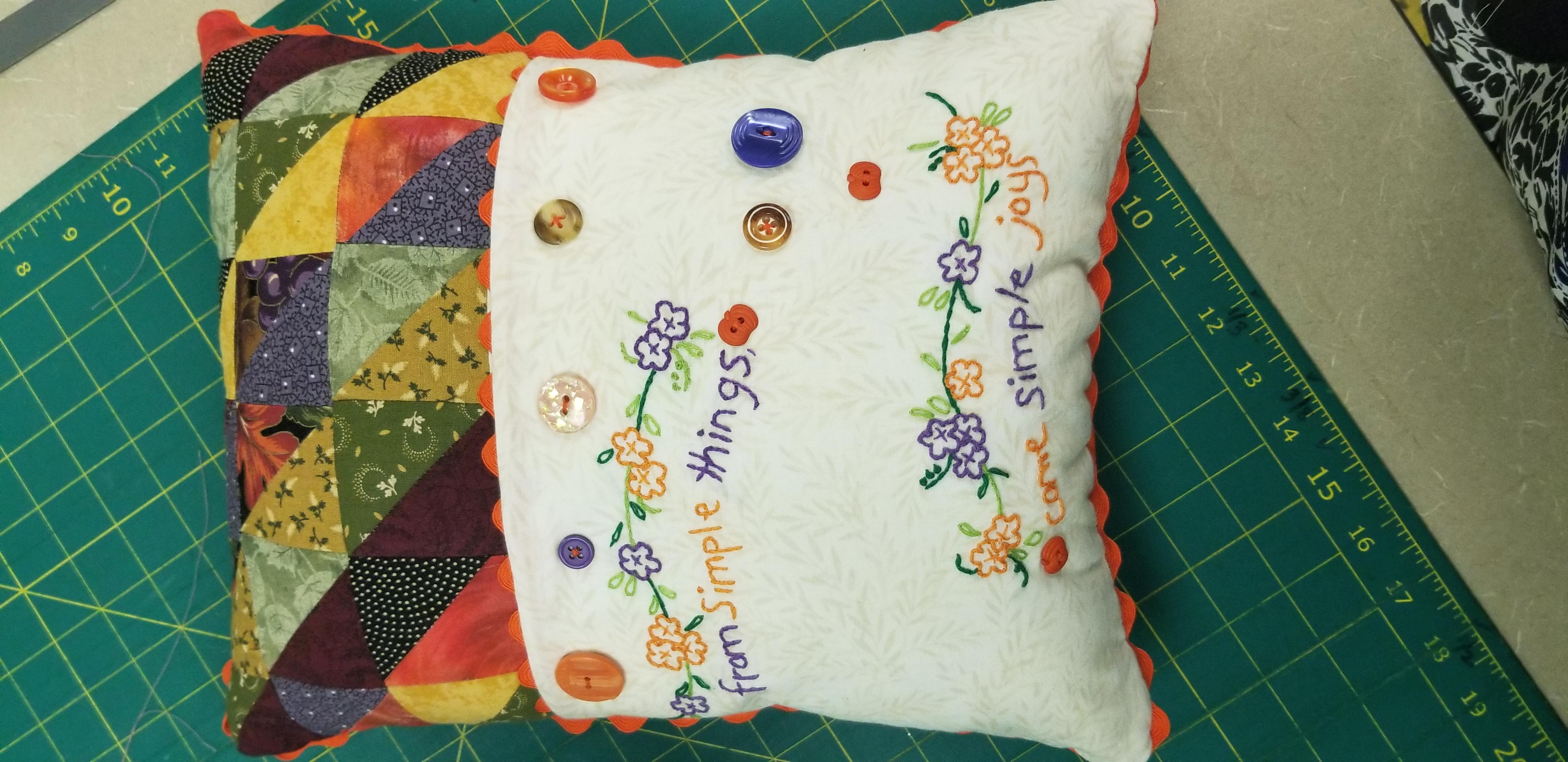 Simple Joy Pillow  - 2 of 3