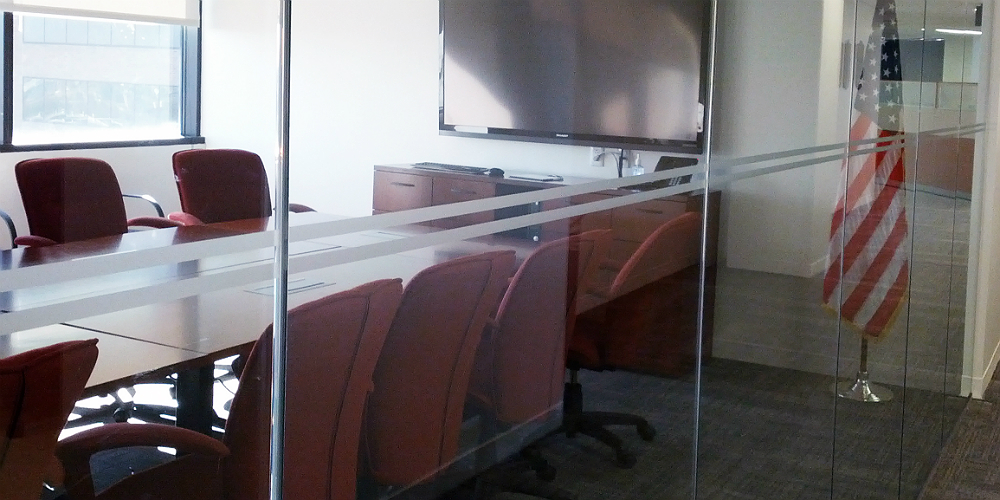 Frosted Conference Room Glass