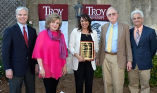 Natasha Trethewey receives Hall-Waters Prize