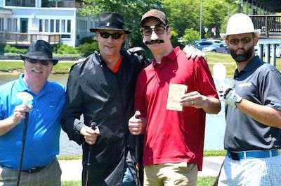 2015 Eagle Alliance Golf - Spy Tee off team