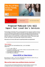 3.13.17 - Protect the Lifeline: Proposed Medicaid Cuts Will Impact Your Loved One's Services (Closed)